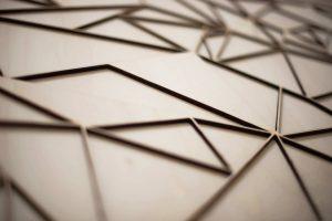 Lasercut | grafisch | zweischichtig